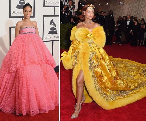 Rihanna At The Grammys And Met Gala
