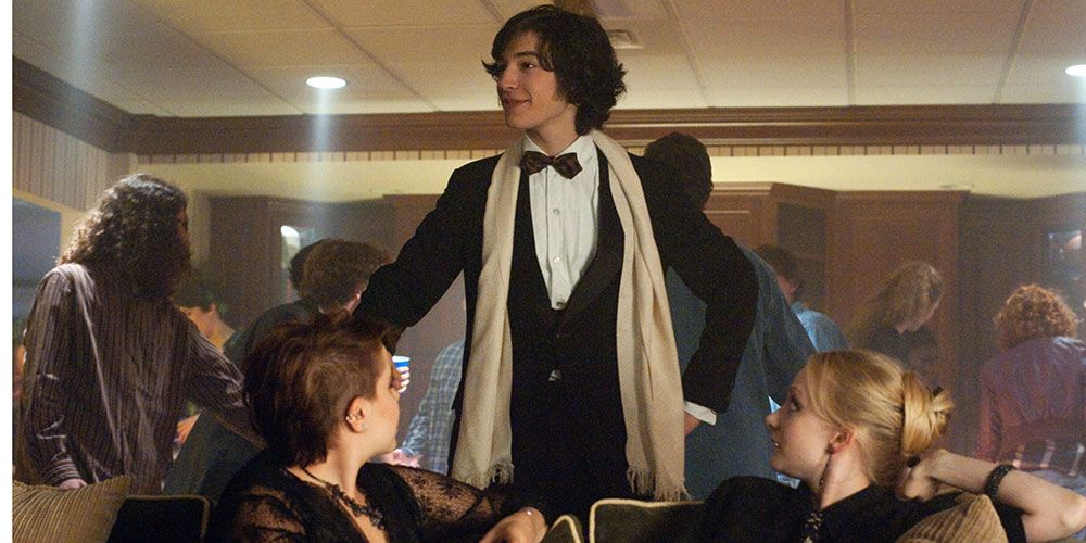 You Know Ezra Miller From Perks Of Being A Wallflower Yeah Hes