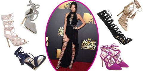 The best lace up shoes like Kendall Jenner