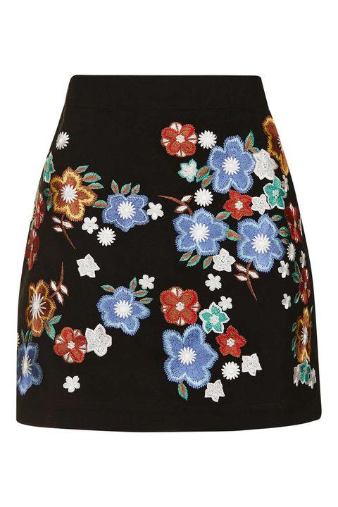 Blue, Textile, Pattern, Creative arts, Floral design, Embellishment, Pattern, Embroidery, Needlework, Pocket,