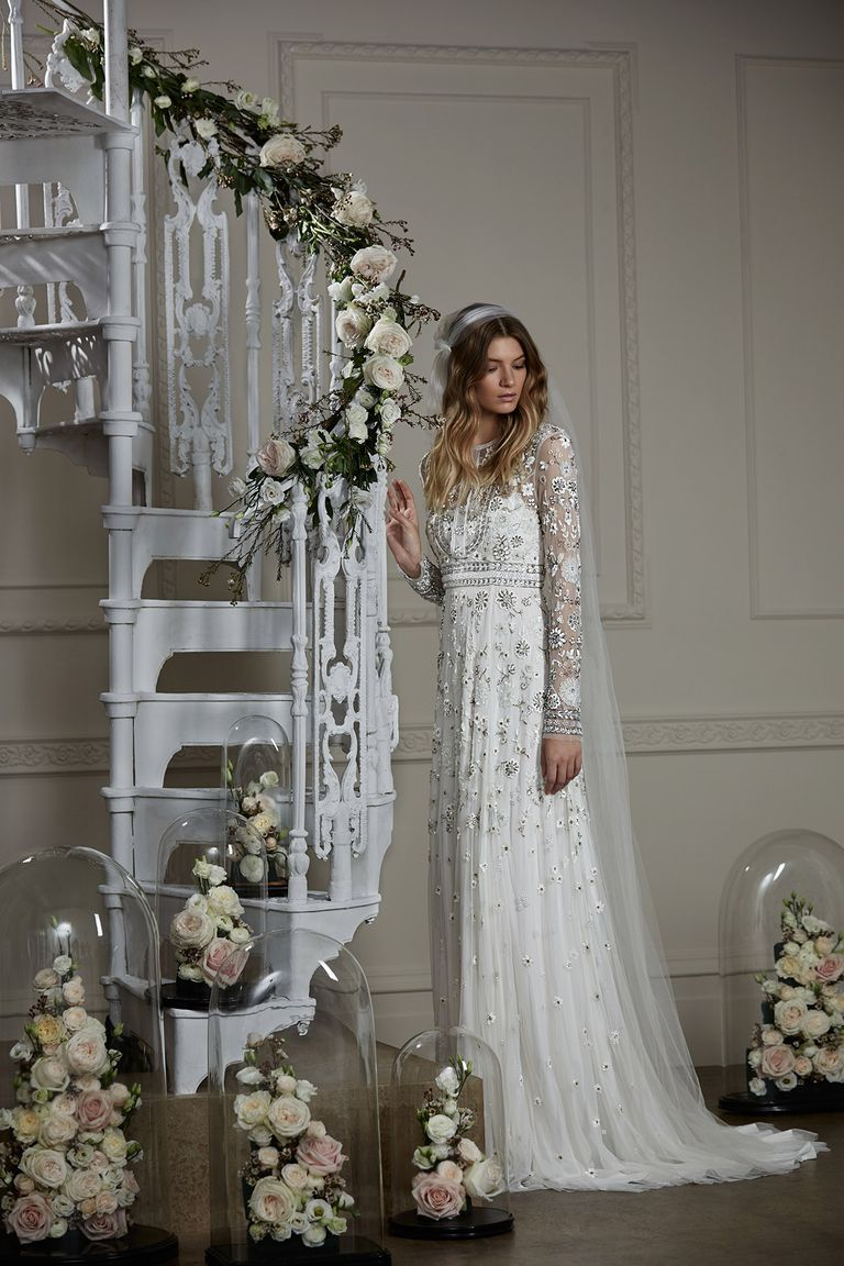 Embellished wedding dresses so beautiful you\'ll want to get married