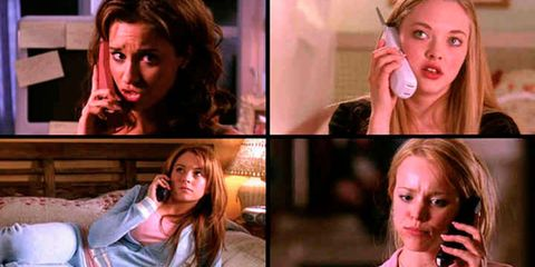 Mean Girls group call