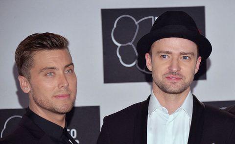 Lance Bass and Justin Timberlake