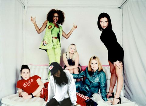 Kylie Jenner and The Spice Girls
