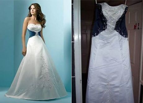 11 wedding dresses that prove why you should never buy from sketchy ...