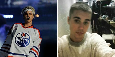 Justin Bieber cut off all his hair and Twitter is in mourning