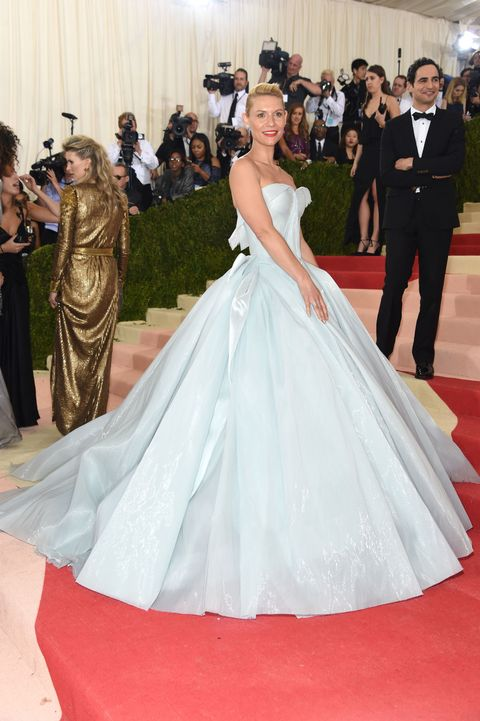 Claire Danes at the 2016 Met Gala