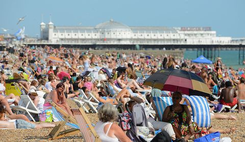 15 things British people do when the sun comes out