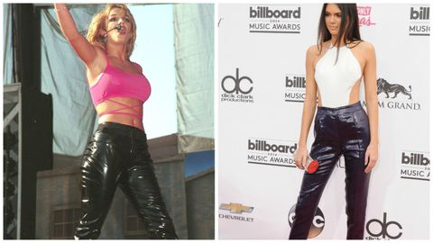 Kendall Jenner Britney Spears Style
