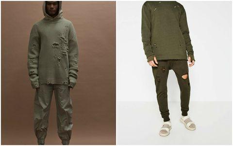 8a8a9d89ae9 Zara s Streetwise collection looks a little like Kanye West s Yeezy Season 3