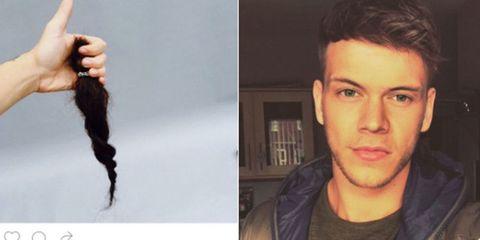 Harry Styles short hair hoax