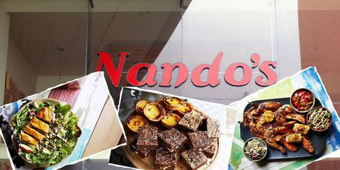Nando's have a new Spring menu and OHMYGOD it looks good