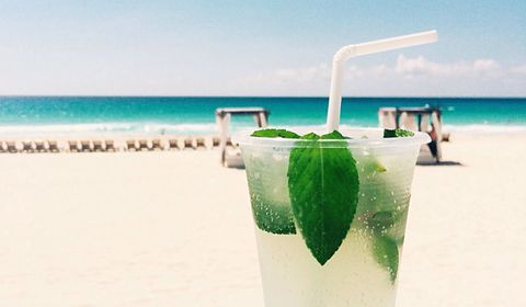Mojito Tails On The Beach