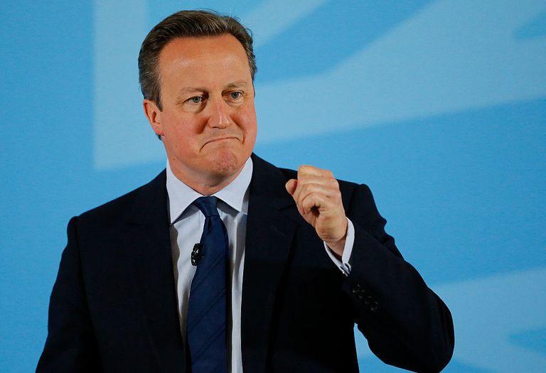 David Cameron is on Tinder