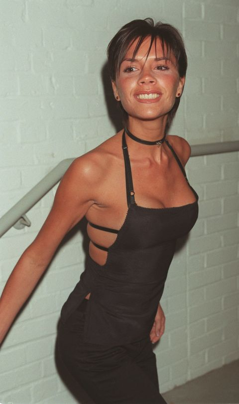 Victoria Beckham throwback fashion style