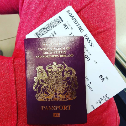 There's a good reason you shouldn't post photos of your boarding pass online before a flight