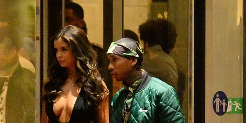 Tyga's rumoured to have a new girlfriend and she looks SUSPICIOUSLY like Kylie Jenner