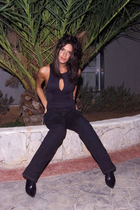 Victoria Beckham throwback fashion style