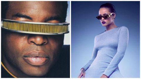 7869ca687432 Rihanna s designed the coolest sunglasses for Dior