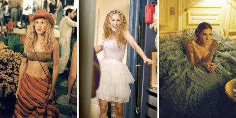 Carrie Bradshaw's Sex and The City outfits