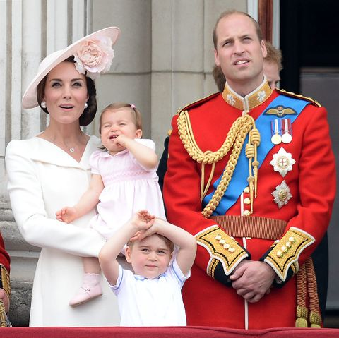 This GIF of Prince George face-palming the Queen will make your week