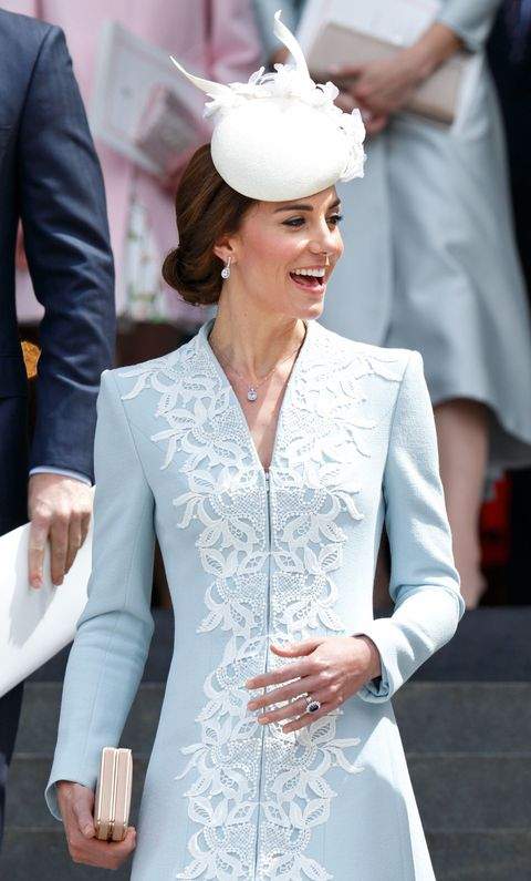 Kate Middleton TOTALLY just broke the Queen's rules with this outfit choice