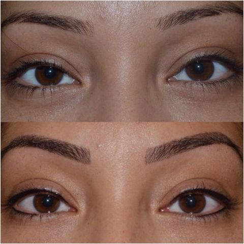 Microblading review - before and after