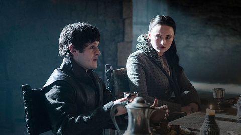 Sansa Stark and Ramsay Bolton game of thrones