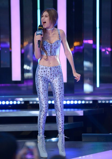 Gigi Hadid wore six outfits at the iHeartRadio Much Music