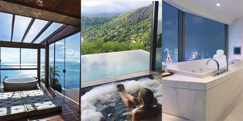 The best bathrooms in hotels
