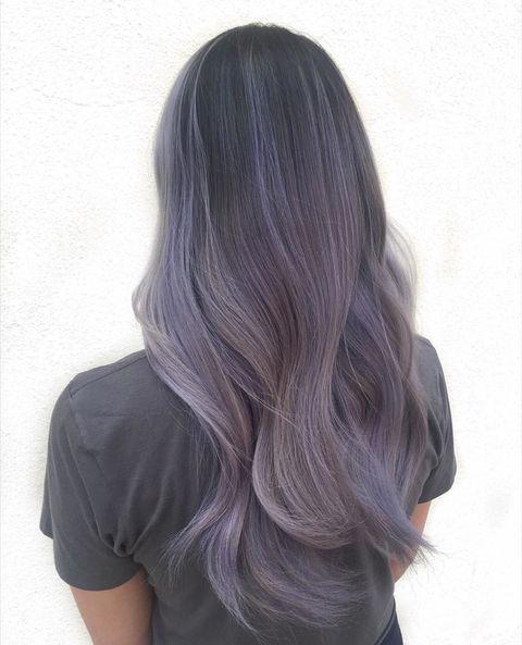 Smokey Lilac Hair