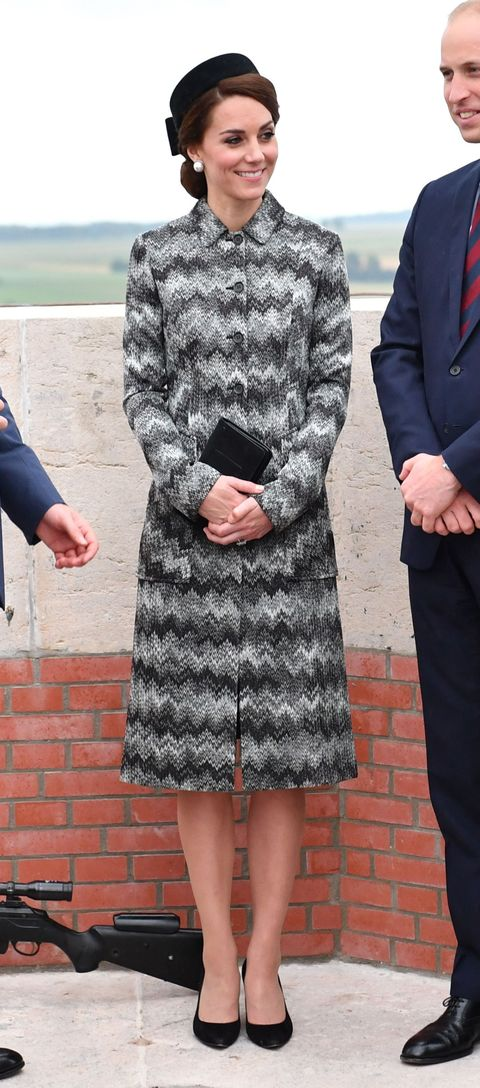 Catherine Duchess of Cambridge in France