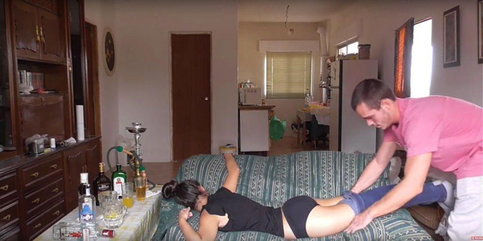 Durnk girl sex