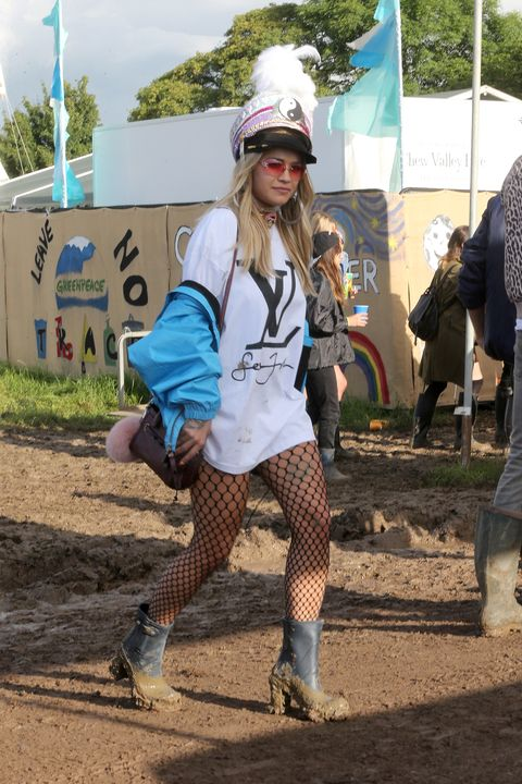 Glastonbury 2016: celebrity style