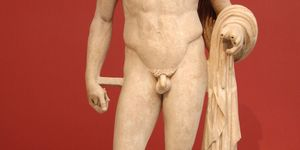 Ever wondered why all the men in ancient statues all have small penises