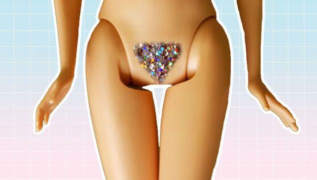 Pictures of bikini wax