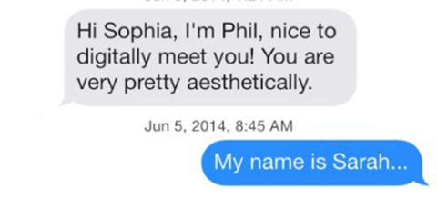 12 awkward Tinder conversations that will make your skin crawl