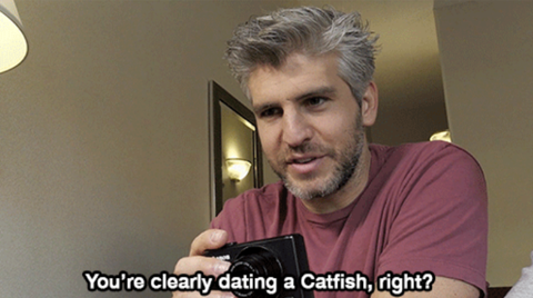 Oct 2017. On MTVs Catfish, Nev and Max work to uncover the dark secrets of online dating.