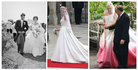 Iconic wedding dresses through time
