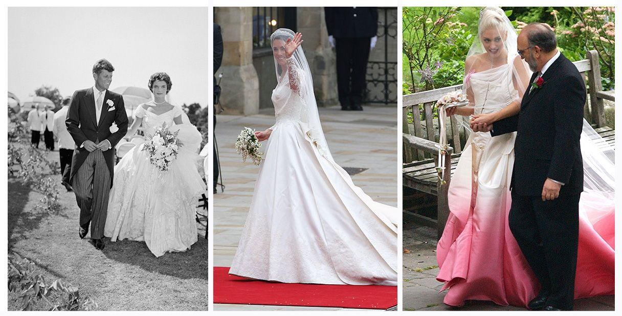Video: iconic wedding dresses through time