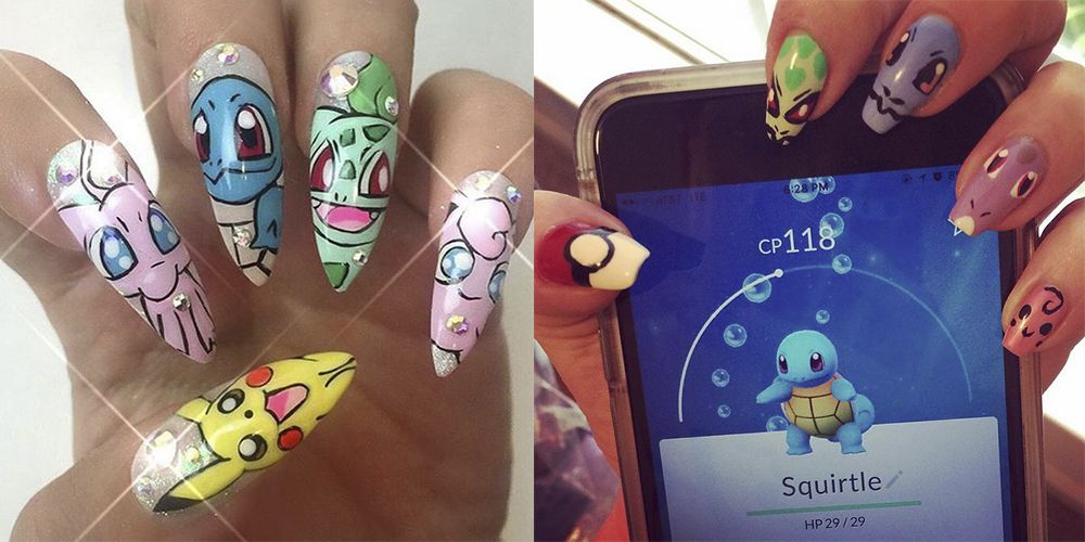Pokmon Go Nail Art Is Taking Over Instagram