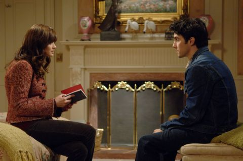 Jess and Rory in Gilmore Girls