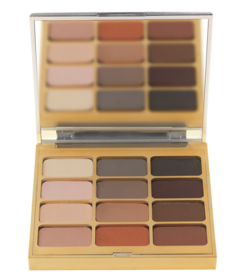 Brown, Tan, Rectangle, Tints and shades, Eye shadow, Beige, Bronze, Maroon, Cosmetics, Square,