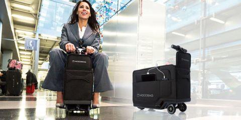 Modobag the motorised suitcase