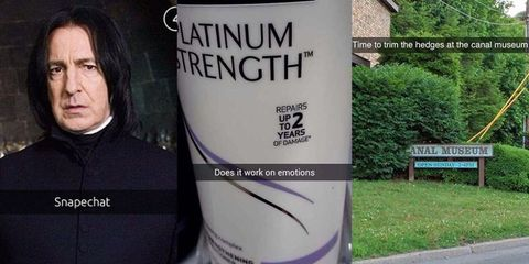 The 27 funniest Snapchats of all time