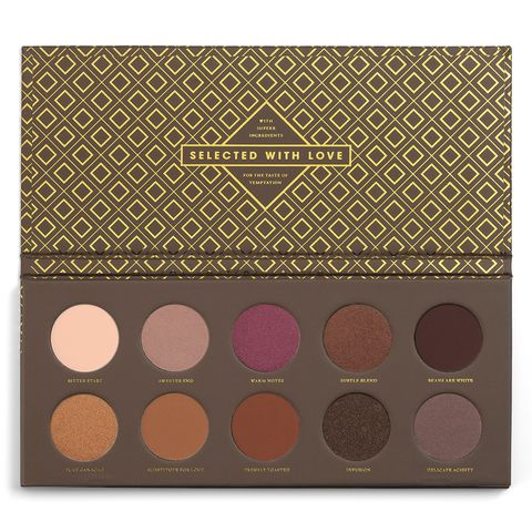 Brown, Pattern, Colorfulness, Eye shadow, Tints and shades, Peach, Tan, Circle, Beige, Lavender,