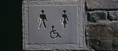 ASDA have replaced their disabled toilet signs for customers with 'invisible illnesses'