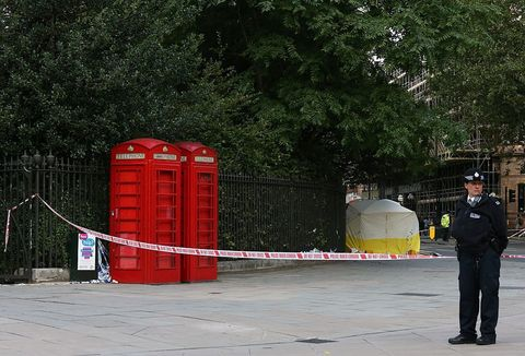 A woman has been knifed to death and five injured in an attack in London