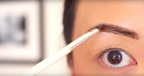 Brown, Skin, Eye, Eyebrow, Eyelash, Iris, Organ, Beauty, Eye glass accessory, Close-up,