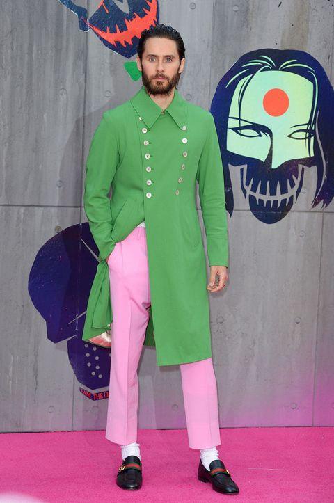 jared leto green jacket